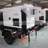 soundproof towable power generation 30KW 40KVA portable mobile trailer silent diesel generator