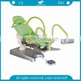 AG-S105B CE ISO adjustable medical obstetric electric hospital gyn obstetric table