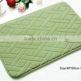 Direct factory manufacture baby bath mat , color changing bath mat