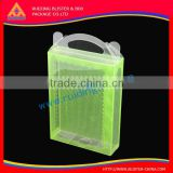high material UF coating PET box for electronic product plastic packaging, hardware accessory package