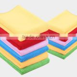 factory multipurpose household cleaning lint-free microfiber cleaning towel for car,window,kitchen,office,sports