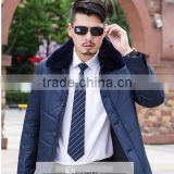 Men's long winter jacket coat more cotton-padded jacket to keep warm Men's clothing wholesale new winter