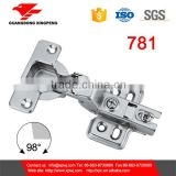 781 concealed hinge with 110 degree open butterfly hinge