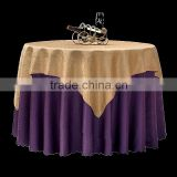 High quality hot sale chemical fiber banquet table cloth