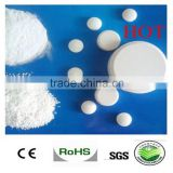 China suppiler of Swimming pool chlorine tablets granular trichloroisocyanuric acid 90% tcca