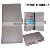 PU Leather Hotel Key Business Mobile SIM Gift ID Card Holder