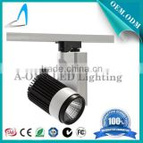 LED manufacturer 30W dimmable track light cree cob 30 degree 2500lm wholesale from factory