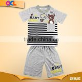 Cheap price made in china boy sports clothing set