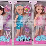Baby Doll Toy 17 Inch Short Hair Toy doll Girl Gift Fashion Dolls
