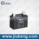China Manufactory ac motor ceiling fan cbb61 2uf capacitor