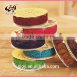 fashion new custom desighs lace tape for christmas decoration
