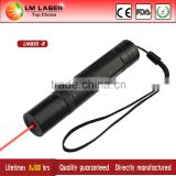 Handheld Astronomy 200mw 650nm Wholesale Red Laser Pointer Kit Pen Beam Light with Rechargeable Battery and Charger