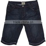 New design mens bermuda denim shorts,man's cotton strech half shorts wholesale manufacturer