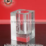 2016 new style crystal craft cylinder shape crystal glass awards trophies