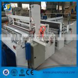 2016 New band Automatic tissue paper rewinding and cutting machine for paper rolls