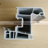 plastic extrusion profiles/pvc corner profile/China upvc profile manufacture of pvc window and door