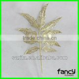 high quality decorative artificial leaves for weeding or christmas                                                                         Quality Choice