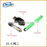dican 510 cbd vape pen battery with charger plastic case packaging cbd cartridge oil vapor pen                                                                         Quality Choice