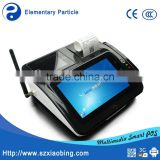 M680 All in one pc touch screen android pos terminal for coupons rebates with card skimmer
