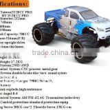 Factory price 1:5 hpi gas rc truck