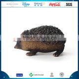 Customized Resin Hedgehog Decorations, 2016 New Design Polyresin Hedgehog Statue Ornament, Garden Decoration Cute Hedgehog