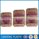kraft paper valve bag- cement/sand/fertilizer for industrial use square bottom kraft paper valve bag