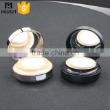 15g round shape bb cushion airless squeeze empty compact powder container