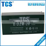 Maintenance free green16v 20ah sealed battery for electric bike