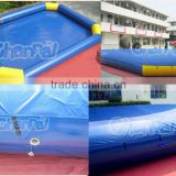 Top quality pvc inflatable water pool/swiming pool/outdoor rubber swimming pool                                                                                                         Supplier's Choice