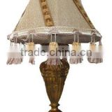 Exquisite antique desk lamp hotel &bedroom lighting decor