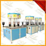 6-station high frequency aluminum tubes induction welding machine for stainless steel kettle