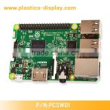Original Raspberry Pi 3 model B with Broadcom 1.2GHz Quad-Core ARM Cortex-A53 BCM2387 chipset integrated WiFi and Bluetooth4.1