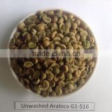 ARABICA COFFEE BEANS- BULK GREEN COFFEE BEANS- WET POLISHED, UNWASHED, HIGH GRADE QUALITY.