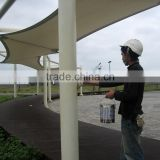 PTFE tensile fabric architecture for Corridor Canopy and permanent roofing sysytem in Taiwan