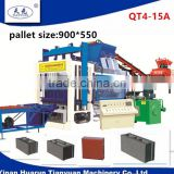 qt4-15 fully auto used brick making machine/cement brick making machine/hot sale brick making machine price