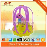 Intelligent Electric singing bird cage toys for kids