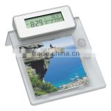digital photo frame with pen holder