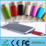 Alibaba China wholesale factory cheap price 4gb-32gb OTG usb flash pen drive for Mobile Phone&Tablet PC