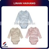 Exporter Hot sale lovely plain baby kimono set