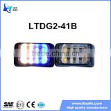 8 LED GRILL LIGHT BEACON EMERGENCY WARNING FLASHING LIGHT 12V/24V LINEAR Warning Strobe Lighthead LTDG2-41B
