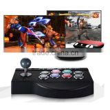 ABY 8 direction game rocker Fighting Stick Arcade Joystick Turbo Function eight Action Buttons Compatible for PC PS3