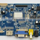 Driver board with HDMI, VGA,AV interface for industrial, lcd control board DM37F support image reverse