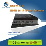 Small size hd mi encoder to h.264 ip stream and iptv mini encoder decoder COL7101H