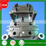 Progressive die for sheet metal forming parts