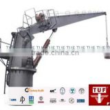 Marine Deck Machinery Equipment electric hydraulic pedestal marine crane/ marine deck crane