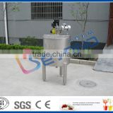small scale stainless steel insulated tank