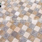 SMS04 Noble high quality 3D natural mosaic yellow jade mosaic stone mosaic tiles
