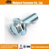 Hot selling high quality good price standard carbon steel high strength din 6921 hex flange bolt