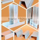 High quality galvalume metal stud & c channel track & galvanized steel stud on sale