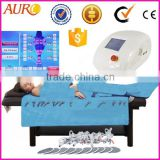 AU-6809 infrared ems pressotherapy fat removal slimming machine/ body sculpture fitness equipment